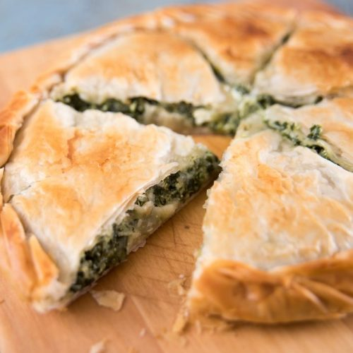 Welcome to my leftover Greek Spanakopita pie in the air fryer recipe.