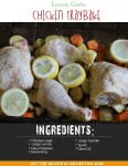 Lemon Garlic Chicken Traybake (Sheet Pan Dinner)