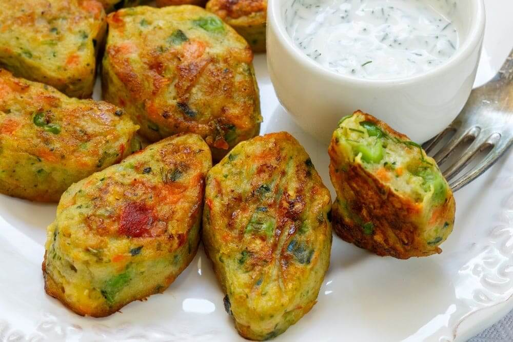 Welcome to my meatless Monday air fryer Thai veggie bites recipe.