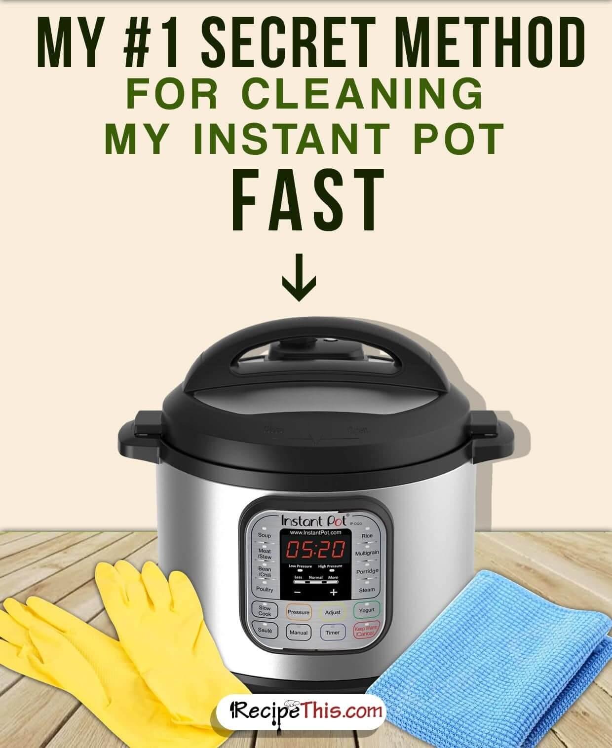 #InstantPot   How To Clean Your Instant Pot