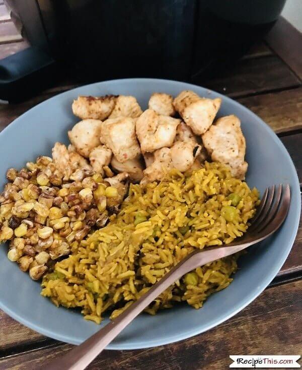 Nandos Peri Peri Chicken Bowl In The Air Fryer