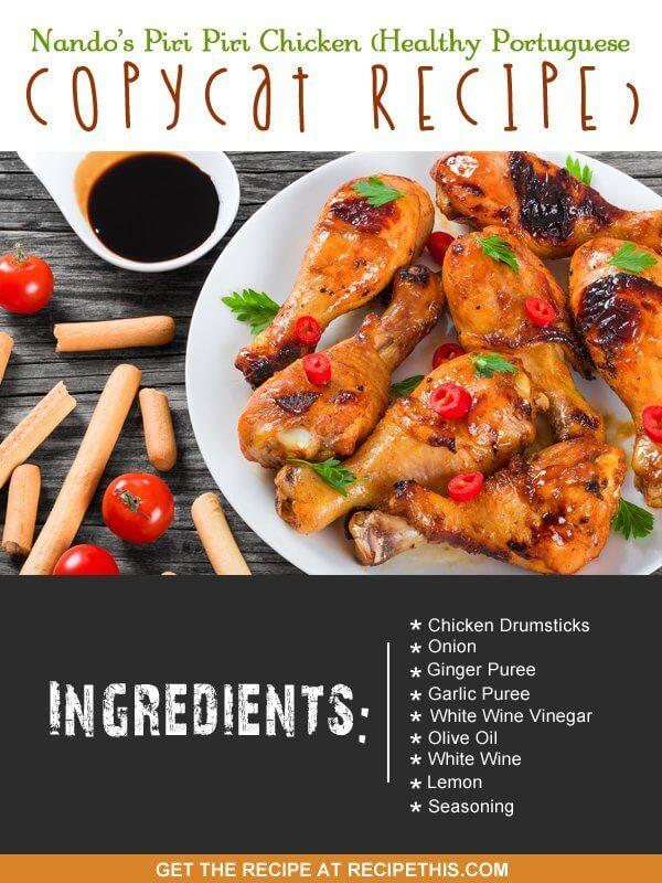"""""""nando´s chicken piri piri recipe"""""""