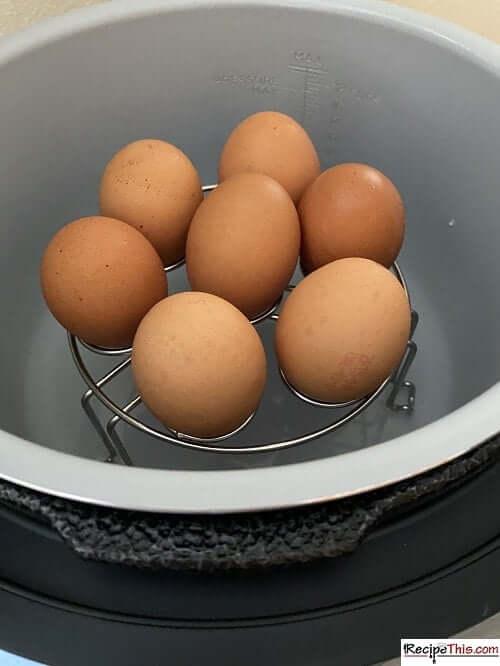 Ninja Foodi Hard Boiled Eggs Rack
