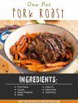One Pot Pork Roast