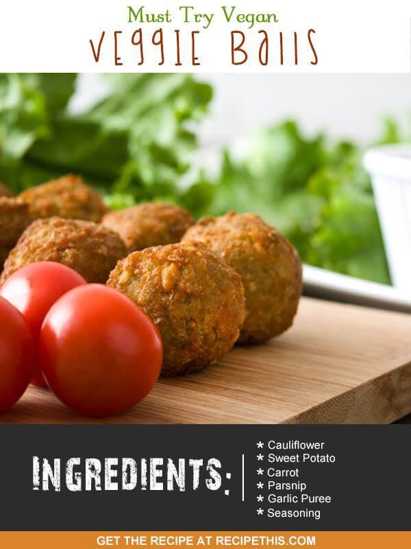 vegan balls, airfryer recipe, airfryer vegan balls,