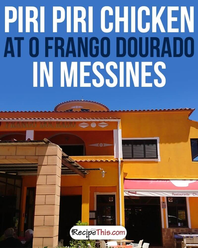 Welcome to my restaurant review of the O Frango Dourado Piri Piri restaurant in Messines in the Algarve. Situated close to Krazy World and just 11km and 13 minutes from our driveway this is a restaurant that we have wanted to visit for a while.