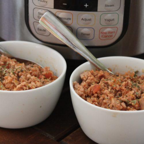 Pressure Cooker Meat Sauce (Instant Pot Bolognese)