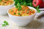 Welcome to my quick blend 5 vegetable couscous recipe.