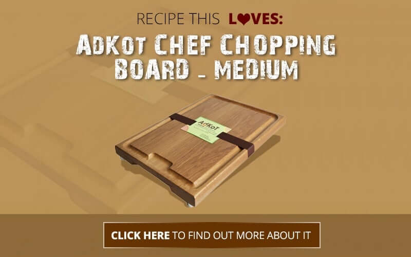 Adkot Chefs Chopping Board Review | find out more at recipethis.com