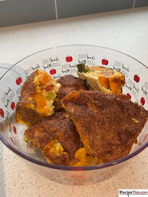 Reheat Breakfast Casserole
