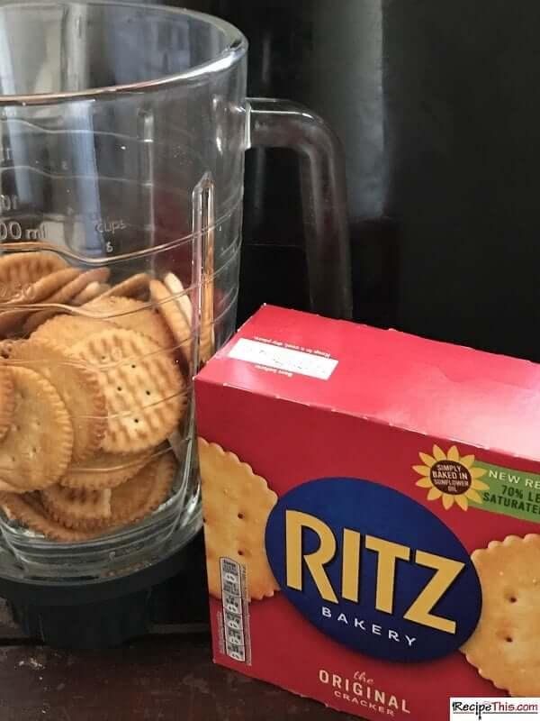 Ritz cracker chicken in air fryer