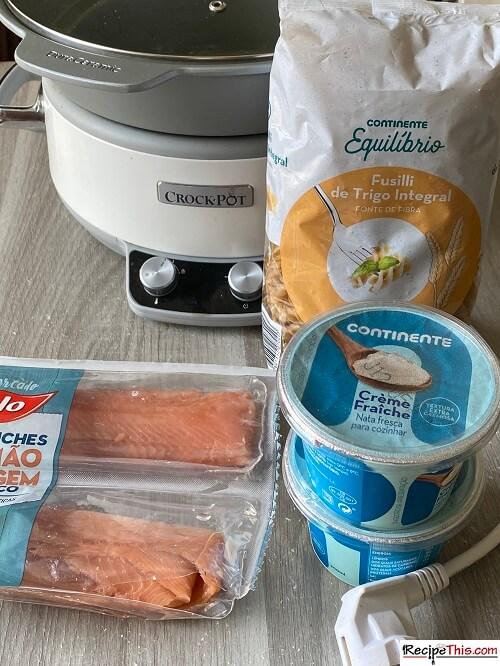Salmon Crème Fraiche