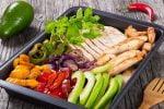 Welcome to my sizzling air fryer turkey fajitas platter recipe.