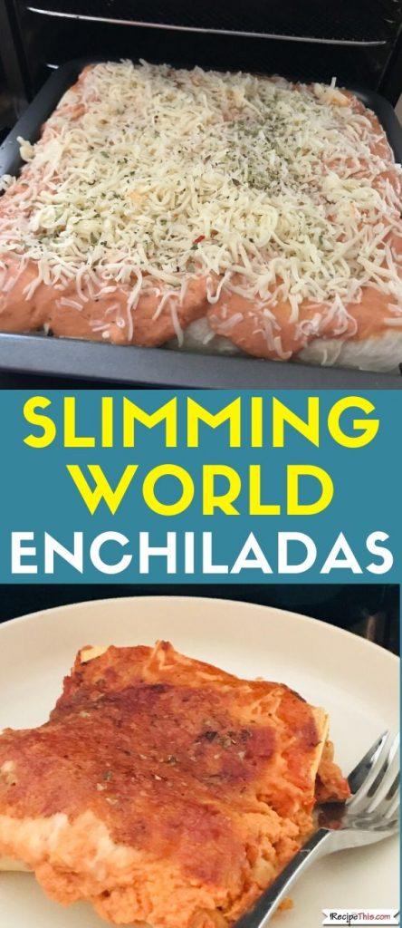Slimming World Enchiladas