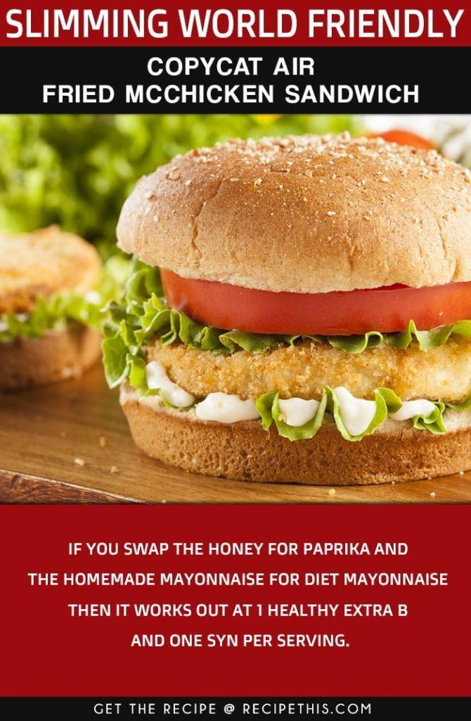 Healthy McChicken Sandwich