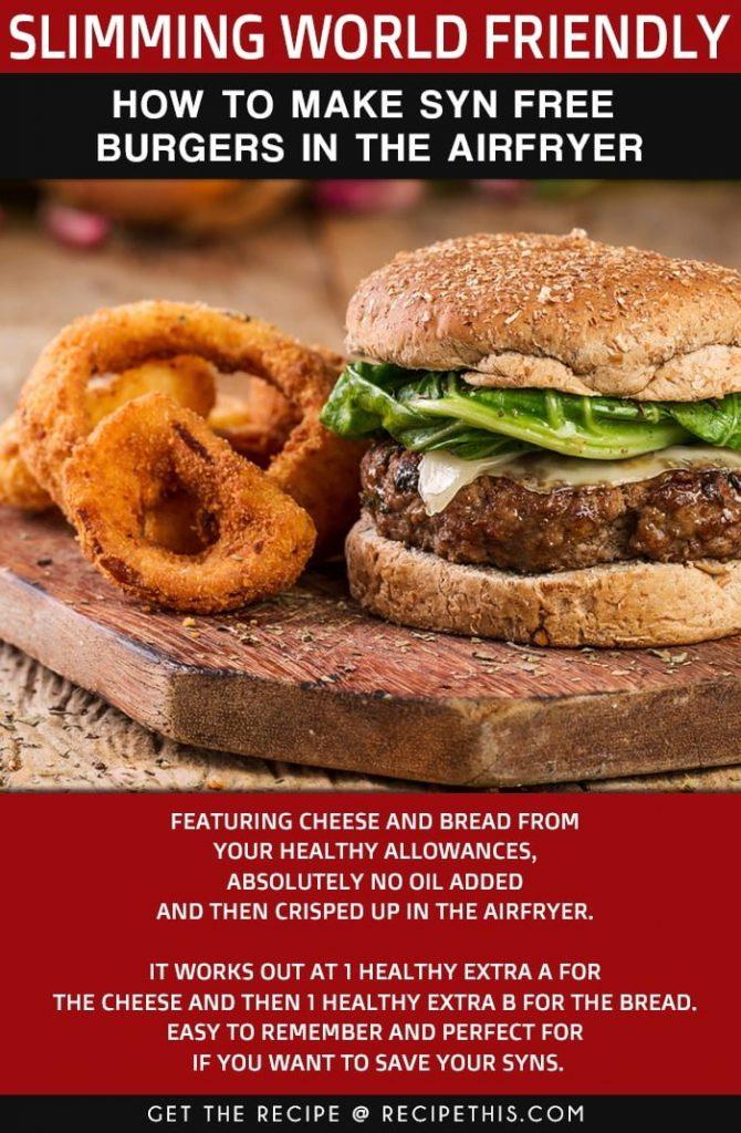 Syn Free Burgers
