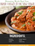 Slimming World Best Ever Butter Chicken In The Slow Cooker