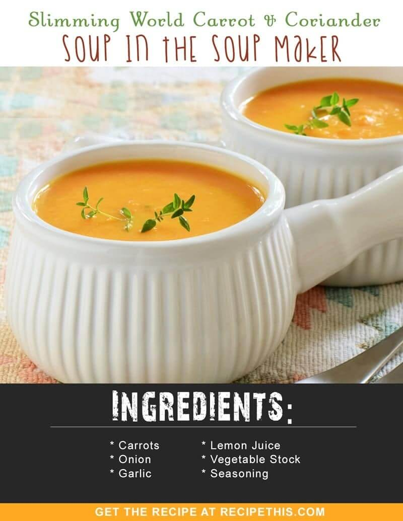 Slimming World Parsnip And Carrot Soup