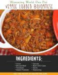 Slimming World One Pot Veggie Loaded Bolognese
