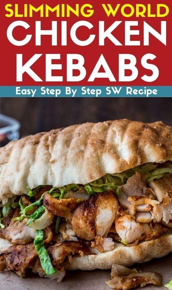 Slimming World Chicken Kebabs