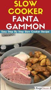 Slow Cooker Fanta Gammon