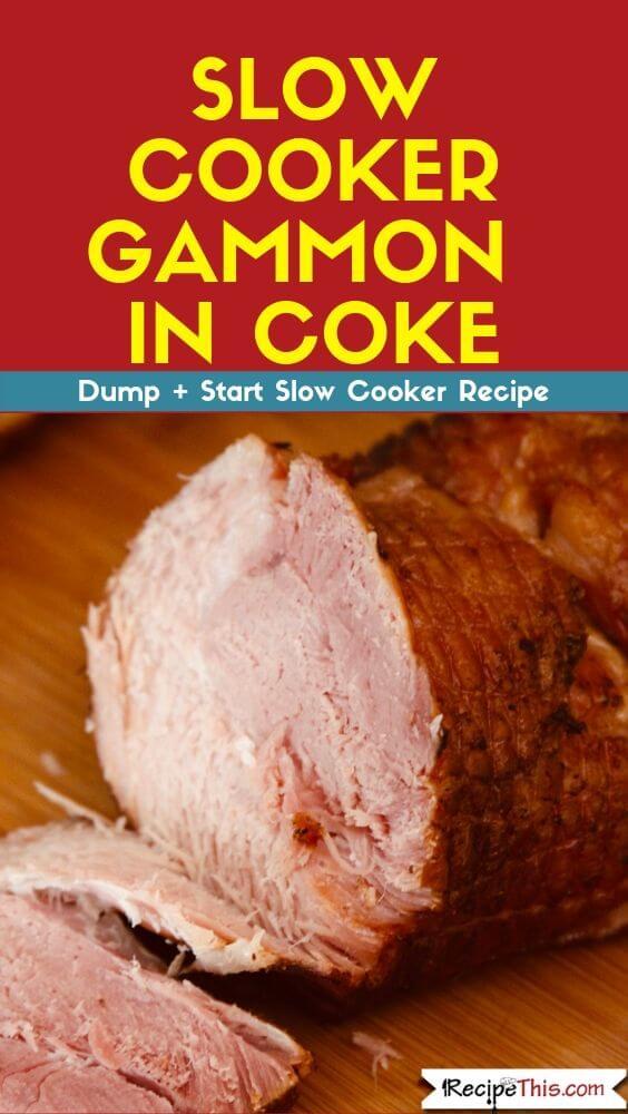 Slow Cooker Gammon In Coke recipe