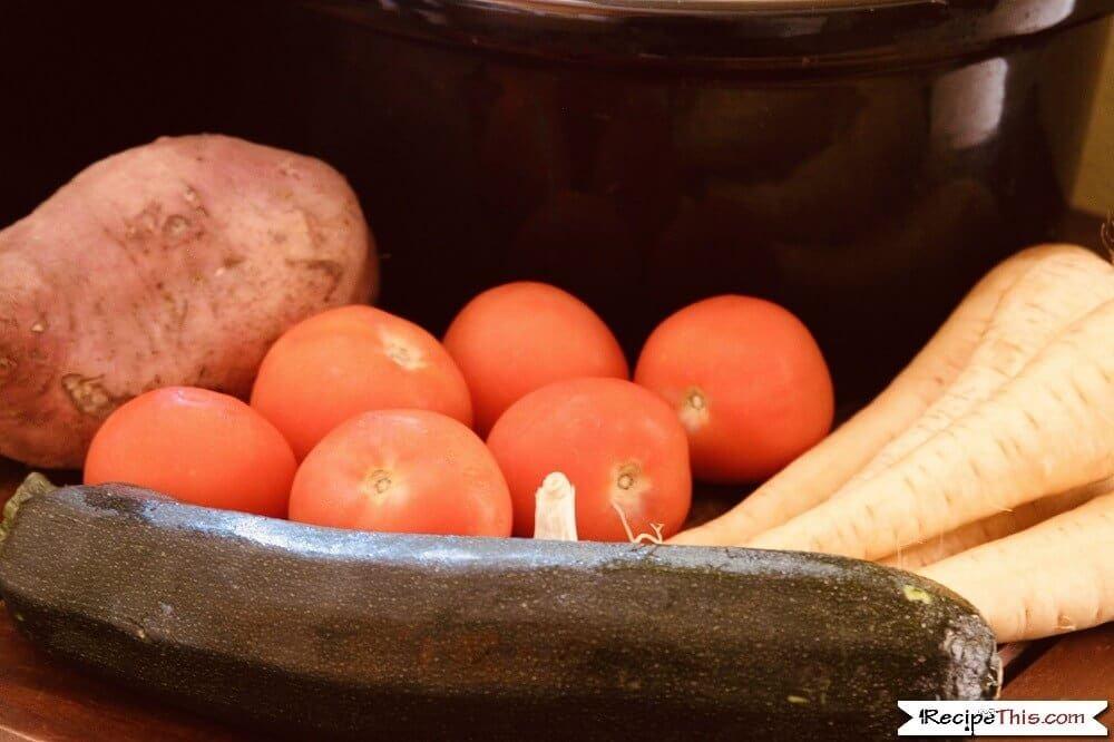 Slow Cooker Rabbit Stew ingredients