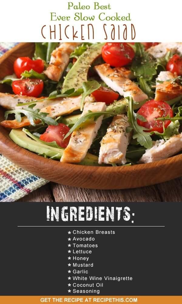 Breast chicken salad recipes