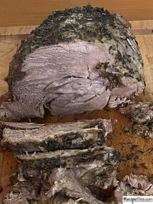 Slow Cooker Roast Lamb