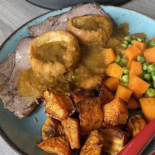 Slow Cooker Topside Roast Beef