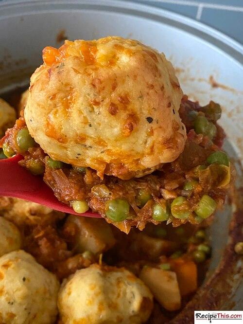 Slow Cooker Vegetable Stew With Dumplings