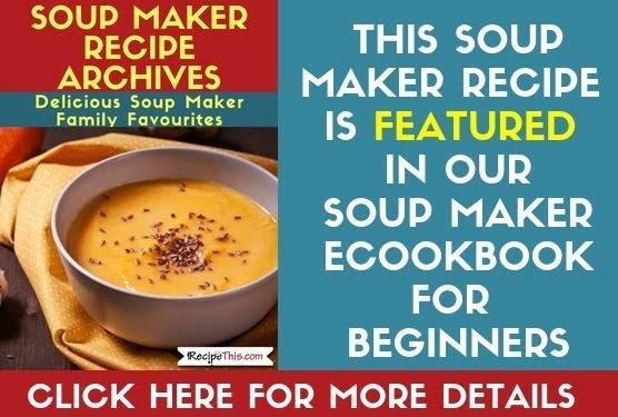 Soup Maker Archives feature