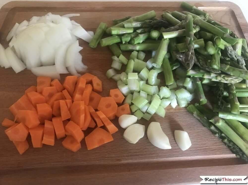Soup Maker Asparagus Soup Ingredients