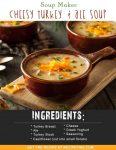 Soup Maker Cheesy Turkey & Ale Soup