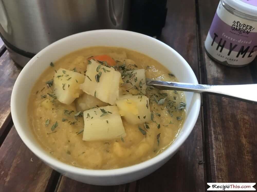 Soup Maker Vegetable Soup