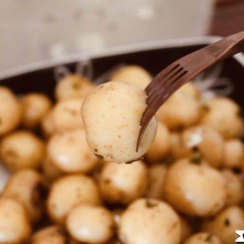 Sous Vide Baby Potatoes