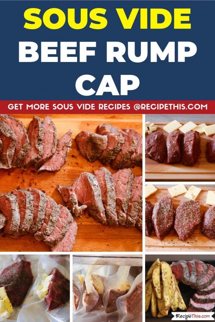 Sous Vide Beef Rump Cap step by step