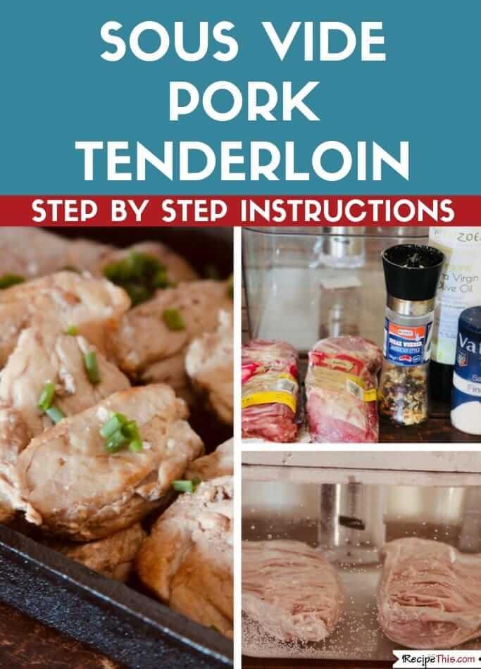 Sous Vide Pork Tenderloin