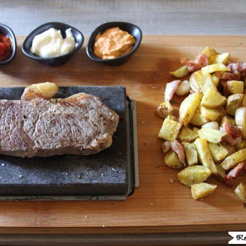 Sous Vide Sirloin Steak the stone