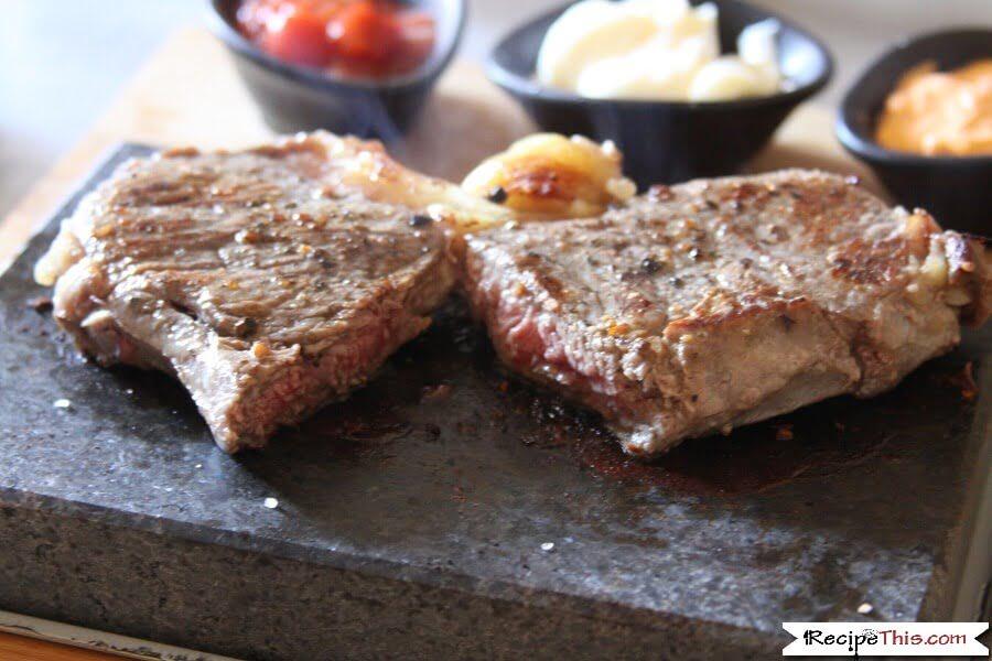 Sous Vide Sirloin Steak