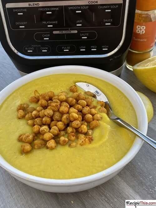 Spicy Soup Maker Cauliflower Soup