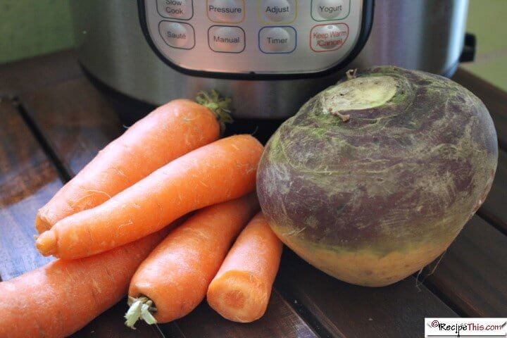 Syn Free Creamy Carrot And Swede Mash