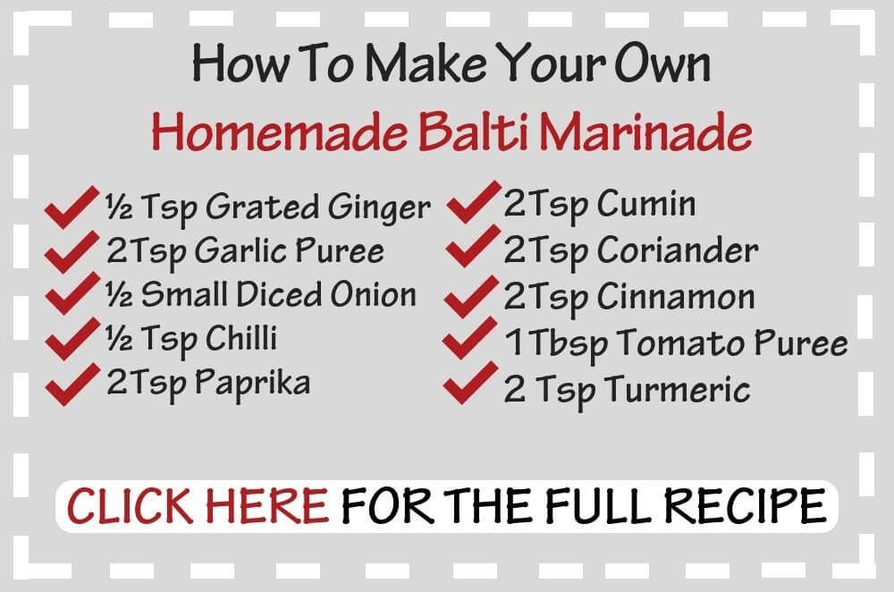 Syn Free Slimming World Chicken Balti Marinade