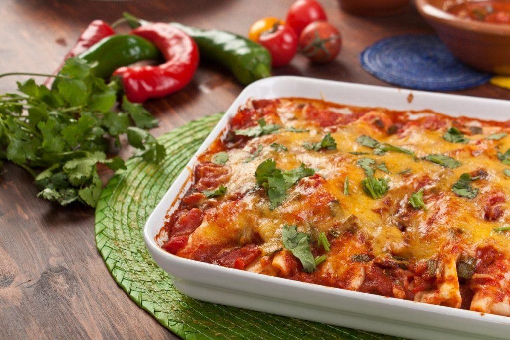 Welcome to my Syn Free Slimming World Chicken Enchiladas recipe