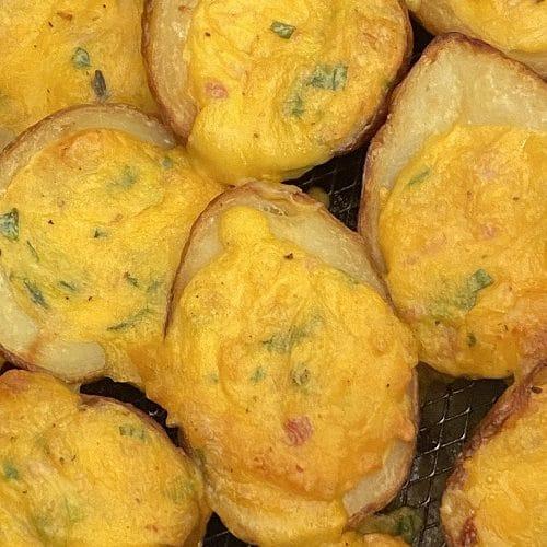 TGI Fridays Frozen Potato Skins In Air Fryer