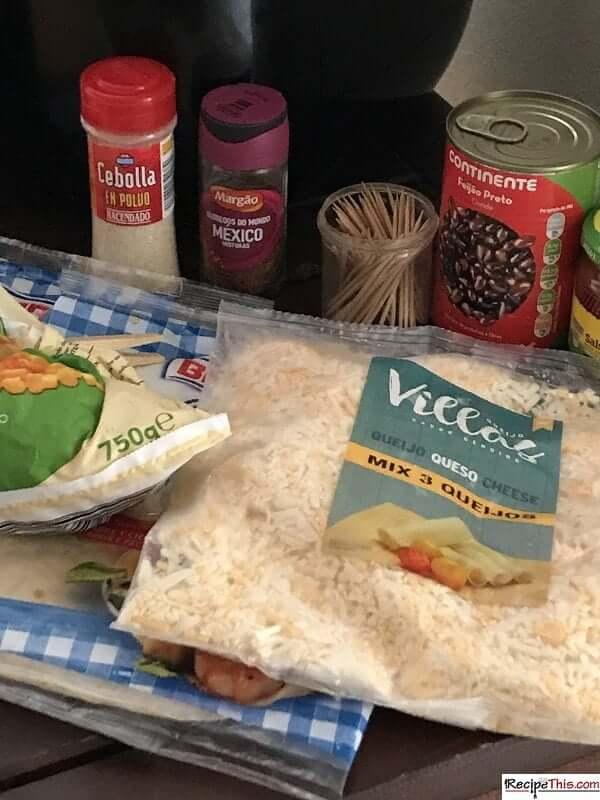 Taco Bell Quesadilla Ingredients