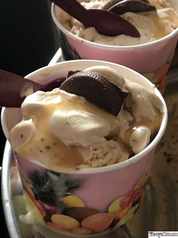 Terrys Chocolate Orange Ice Cream In An Ice Cream Maker