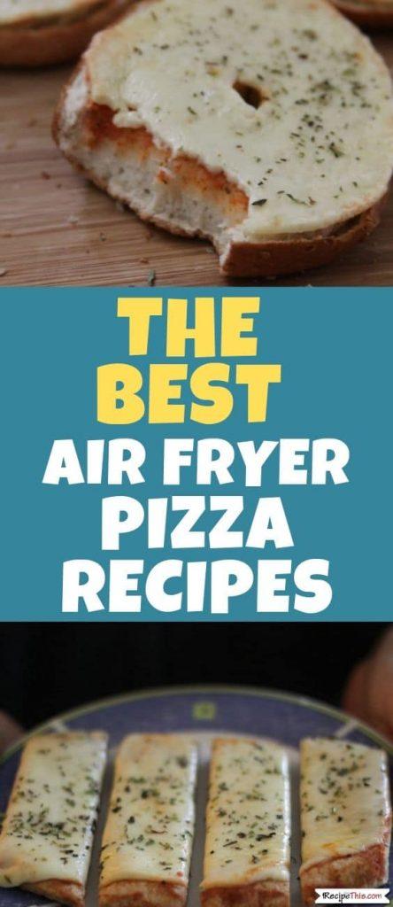 Air Fryer Pizza Dough Balls