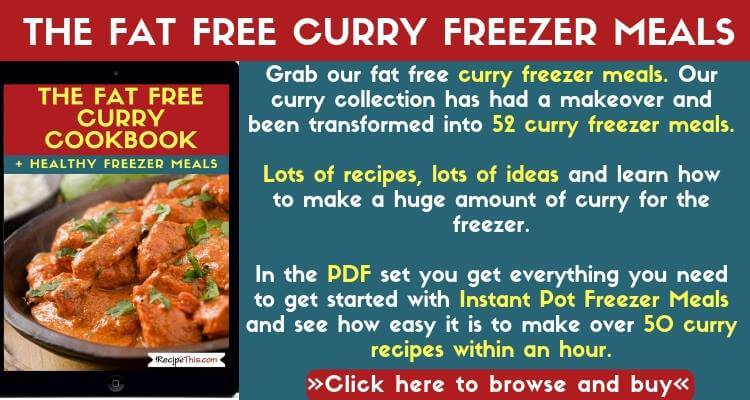 The Fat Free Curry Freezer Meals Pack