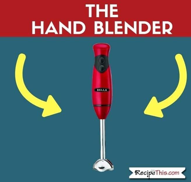 The Hand Blender